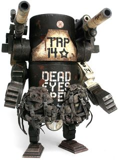"""Iron Panda Damn Large Martin"" 