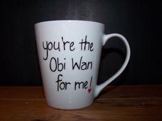 Obi-Wan Kenobi mug / Star Wars/ Father's Day / Birthday / xmas gift china