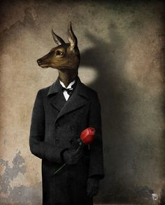 'When the Hunting Season Opens' by Christian  Schloe on artflakes.com as poster or art print $20.79