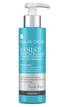 Paula's Choice 'Resist' Perfectly Balanced Foaming Cleanser available at #Nordstrom