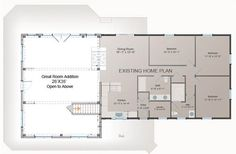 One Room Home Addition Plans Bing Images Porch Family