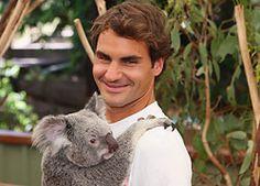 Roger en Brisbane 2014. Lone Pine Koala Sanctuary
