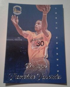 bc9a0f3ae858 2013 14 PANINI PRESTIGE FRANCHISE FAVORITES STEPHEN CURRY CARD   10.  Stephen CurryGolden State WarriorsBasketball ...