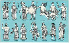 griechische götter
