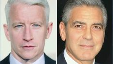 Who is Anderson Cooper's gray-haired doppelgänger?
