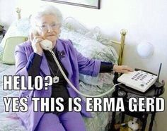 Erma! So glad you called.