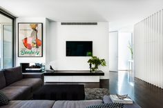 Brighton East house renovation feature written by Bettina Deda for houzz Australia. Beautiful Swan, Houzz, Brighton, Townhouse, New Homes, Gallery Wall, Lounge, Interior Design, Home Decor
