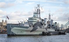 Russia Beyond the Headlines: HMS Belfast D-Day ceremony