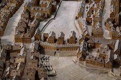 Berlin 1690 Muehlendamm Bruecke (Modell)