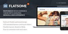 Flat Responsive WooCommerce Theme