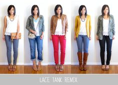 Favorites of 2013: Lace Tank Remix