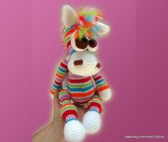 Amigurumi Pattern - Bonya, the Rainbow Horse