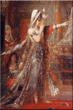 salome; gustav moreau, french symbolist 1826 - 1898 (pre the main popularity of Freud). Article on Jung