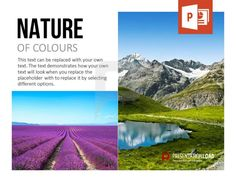 Metaphorically use the colors of nature in your business presentation – download this slide plus the whole set at http://www.presentationload.com/image-layouts.html
