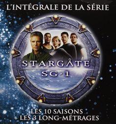 Amazon.fr - Stargate SG-1 - L'intégrale des 10 saisons + 3 films [Édition Limitée] - Richard Dean Anderson, Michael Shanks, Amanda Tapping, Christopher Judge, Ben Browder, plusieurs : DVD & Blu-ray