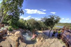 Summer days are for chilling in the pool at Elephant Rock Lodge. Game Lodge, Romantic Escapes, Family Units, Lodges, Summer Days, Places Ive Been, Safari, Elephant, Patio