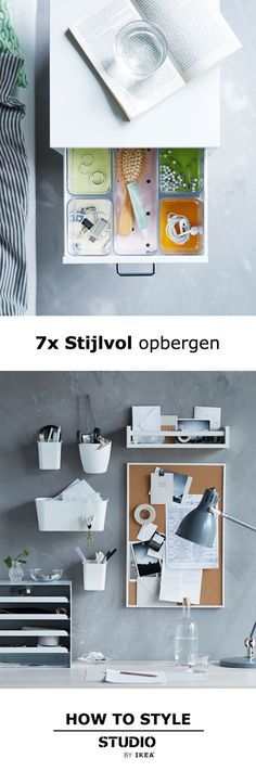 STUDIO by IKEA - 7x Stijlvol opbergen | #STUDIObyIKEA #IKEAnl #IKEA #inspiratie #wooninspiratie #woonoplossing #opbergen #woontip #bureau #werkplek #werken #design #tips
