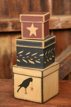 - Nesting Boxes - Crow