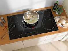 Gaggenau and Miele both offer an induction cooktop. We rate features, reliability, prices and . Induction Stove, Induction Cookware, Major Kitchen Appliances, Kitchen Stove, Cook Top Stove, Electric Cooktop, Food Preparation, Food Hacks, Designer