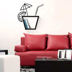 Cocktail Wall Shelf