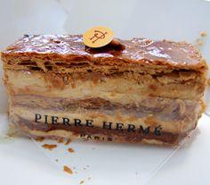 Paris France Food & Travel - My Kiki Cake - 2000 Feuilles Pierre Herme