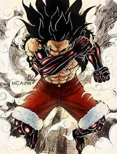 gear fourth luffy One Piece Manga, One Piece Figure, One Piece Drawing, One Piece Ace, One Piece Fanart, One Piece Luffy, One Piece Gear 4, One Piece Zeichnung, Manga Japan