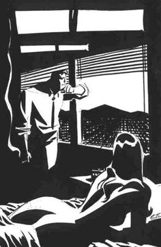 Delicious West Coast noir by Bruce Timm.