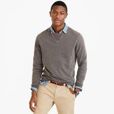 Garment-dyed sweatshirt : sweatshirts | J.Crew