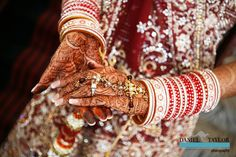 The bride's intricate Mehndi (Daniel Taylor Photography)
