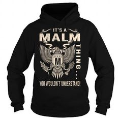Cool Its a MALM Thing You Wouldnt Understand - Last Name, Surname T-Shirt (Eagle) T-Shirts