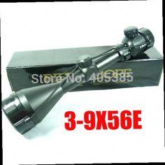 48.06$  Watch here - http://alinbq.worldwells.pw/go.php?t=32217885972 - Hunting riflescope 3-9x56E red&green illuminated hunting equipment gun optics Sniper hunting Scopes 48.06$