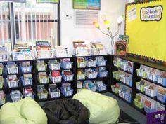 Creating an active literacy classroom environment.