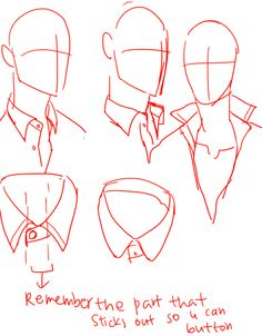 139 best Kelpls helpful tutorials images in collar drawing reference collection - ClipartXtras Drawing Base, Manga Drawing, Drawing Reference Poses, Design Reference, Drawing Techniques, Drawing Tips, Drawing Stuff, Shirt Drawing, Poses References