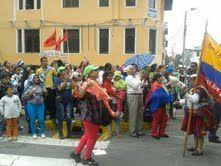 """Quito, 20 sep. 2013. """"Pobladores amazónicos piden a la Asamblea apruebe la explotación de los bloques 31 y 43"""". Foto y nota del diario oficial @el_ciudadano"""