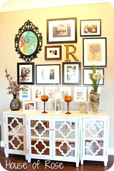 Awesome gallery wall