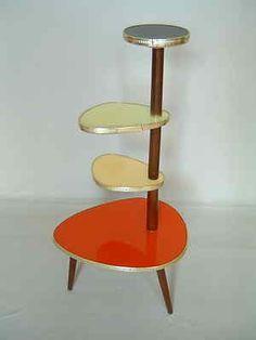 Original 1950s tripod plant stand mid century Danish modern vintage 60s retro | eBay