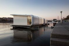 Port X by SAD studio  #WoodLovers #architecture #interiordesign #floatinghouse