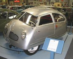Micro_Car_Hoffman_1951.  How could anyone make a car so ugly!  Absolutely Awful!!!