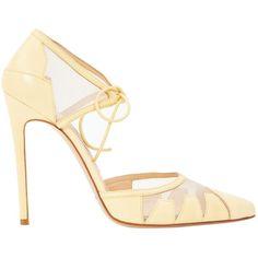 Pre-owned - Leather heels Bionda Castana J7O0Td3
