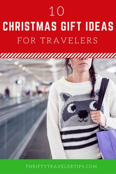 Looking for some great holiday gifts for the traveler in your life -- or maybe just something to gift yourself? Check out this list from Thrifty Travel Tips!