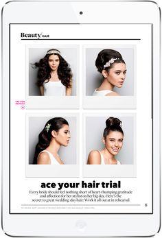BRIDES Magazine for iPad By Condé Nast Digital. More on www.magpla.net MagPlanet #TabletMagazine #DigitalMag