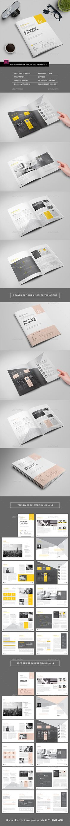 Travel Agency Bifold \/ Halffold Brochure 2 Brochures, Ai - travel proposal template