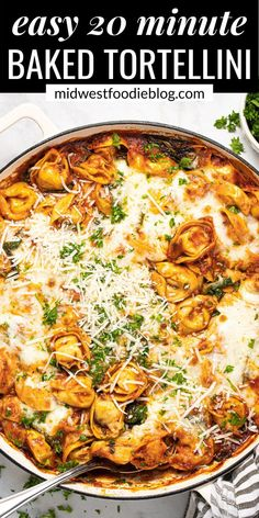 Cheese Tortellini Recipes, Tomato Tortellini Soup, Tortellini Bake, Pasta Recipes, Dinner Recipes, One Pot Dinners, Easy Weeknight Dinners, Pasta Dishes, Food Dishes