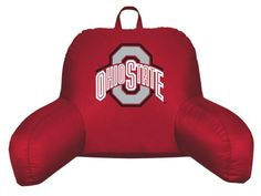 Ohio State Buckeyes Locker Room Bedrest Husband Pillow 19x12 * Check this awesome product by going to the link at the image.