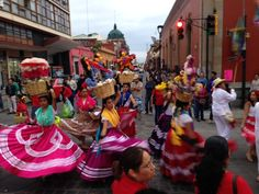 Another colourful celebration in Oaxaca City, one of many throughout the year that you can experience on our  mountain biking adventure in Oaxaca.