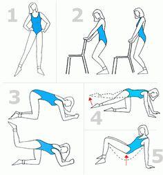 Ejercicio para reducir la grasa de la cintura. ~ Dietas fáciles para bajar de peso.