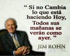 Resultado de imagen para jim rohn frases Jim Rohn, Thoughts, Memes, Words, Daycare Ideas, Herbalife, Screens, Entrepreneur, Hacks