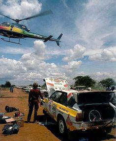 Asistencias equipo Audi en el Rallye Safari
