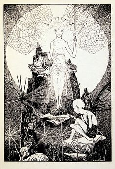 Down-Adown-Derry. A Book of Fairy Poems, by Walter de la Mare. With illustrations by Dorothy P. Lathrop, London, Faber & Faber Ltd., 1942
