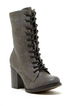 Switch up your black boots for a cool tone grey